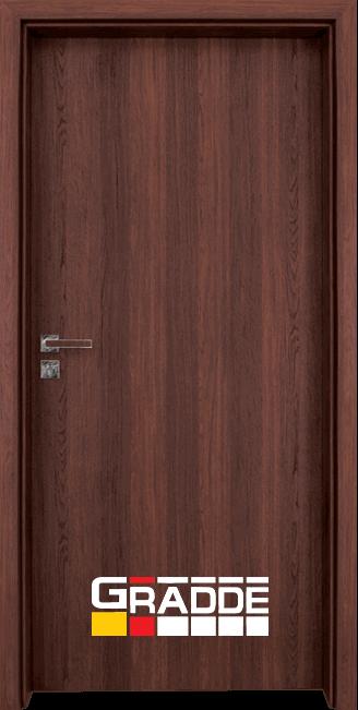 Интериорна HDF врата, модел Gradde Simpel, Шведски дъб