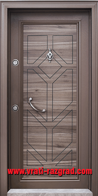Блиндирана входна врата модел Т 686