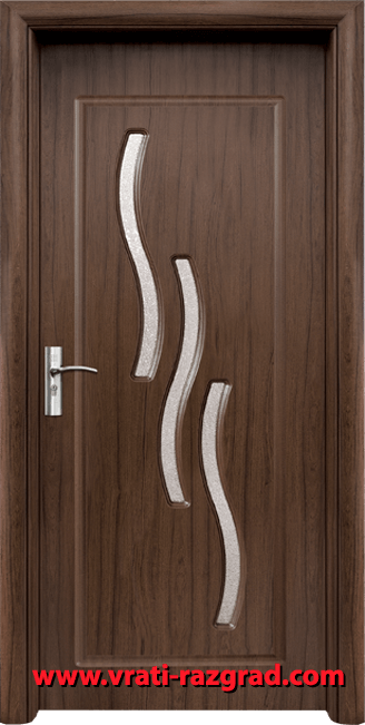 Интериорна HDF врата, модел Стандарт 014, Орех