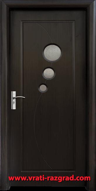 Интериорна HDF врата, модел Стандарт 017, Венге