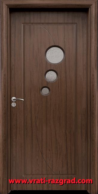 Интериорна HDF врата, модел Стандарт 017, Орех