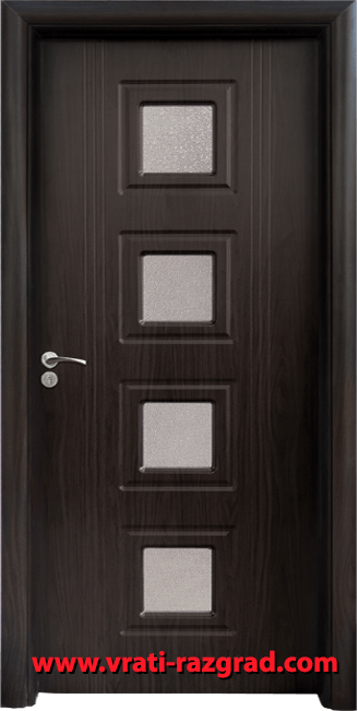 Интериорна HDF врата, модел Стандарт 021, Венге