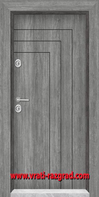 Блиндирана врата модел Т 1002