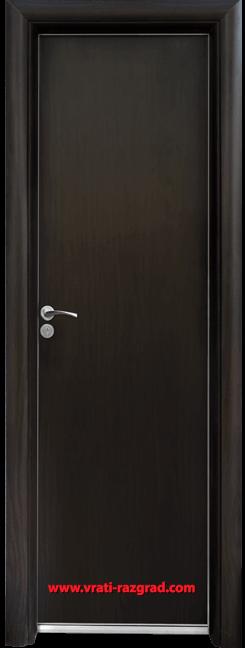 Алуминиева врата за баня – Standart, цвят Венге